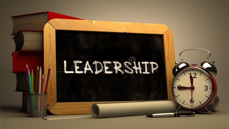Führungs-Konzept-Hand gezeichnet auf Tafel stockbilder