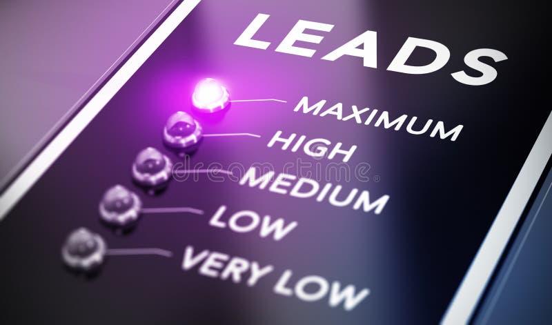 Führungsgeneration lizenzfreie abbildung