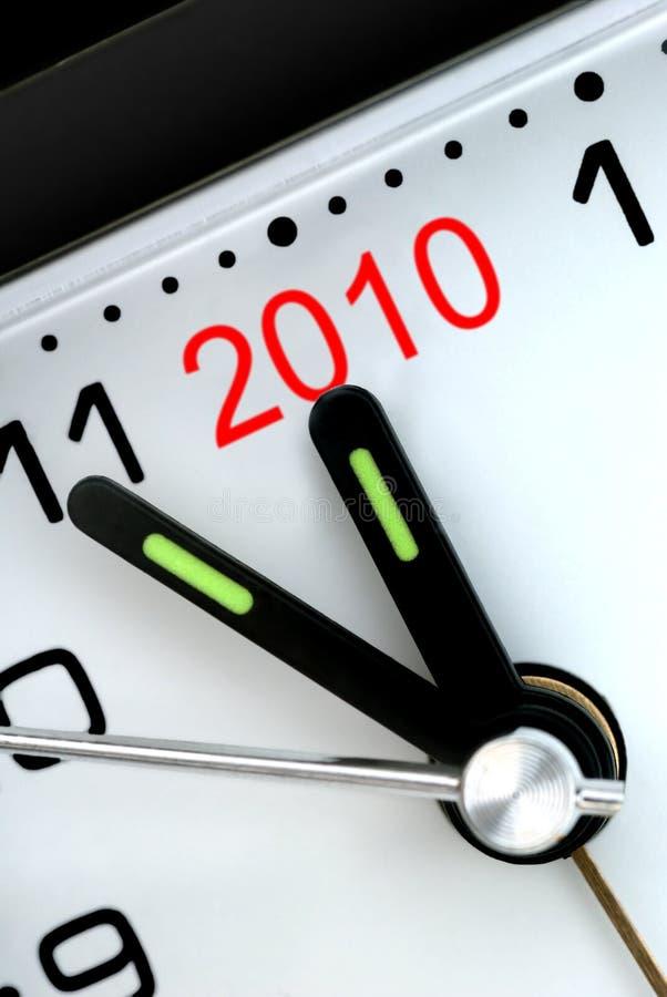 Fünf Minuten zu nächstes Jahr stockfotos