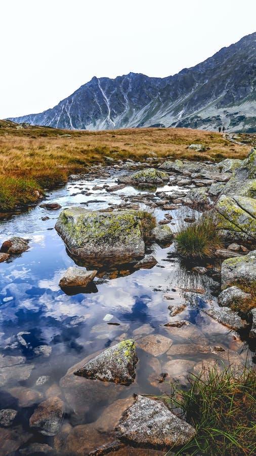 Fünf polnisches Teich-Tal, hohes Tatras lizenzfreie stockbilder