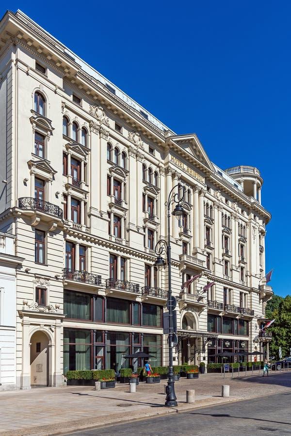 Fünf Sterne Hotel Bristol stockfoto