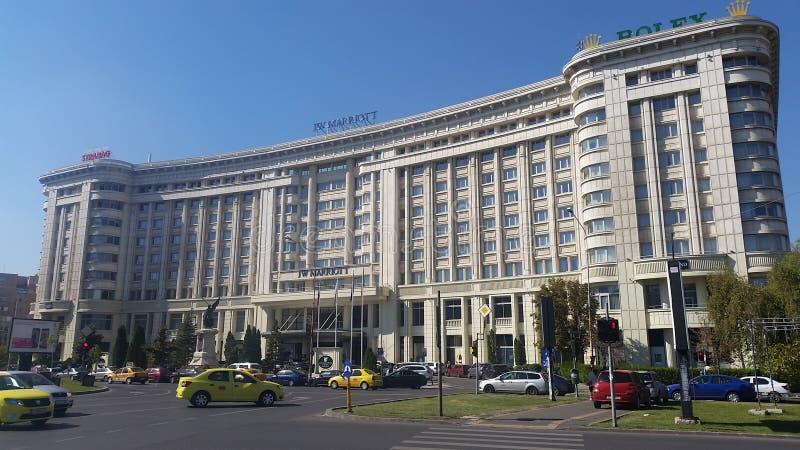 Fünf-Sternehotel Bukarest lizenzfreie stockfotografie