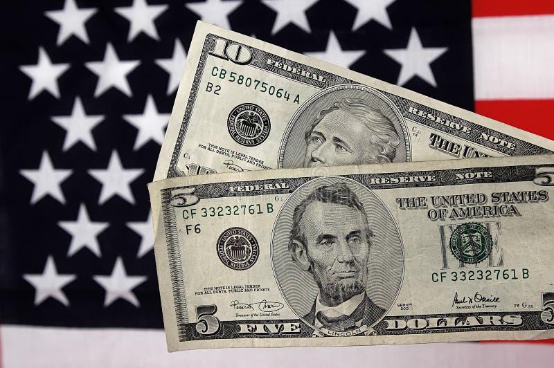 Download Fünf und 10 stockfoto. Bild von fünf, fülle, dollar, reich - 37628