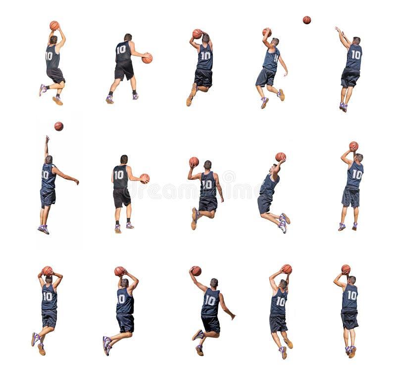 Fünfzehn Spieler lizenzfreie stockbilder