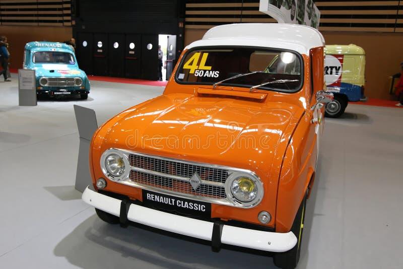 Fünfzig Jahre für den Renault 4L lizenzfreie stockfotos