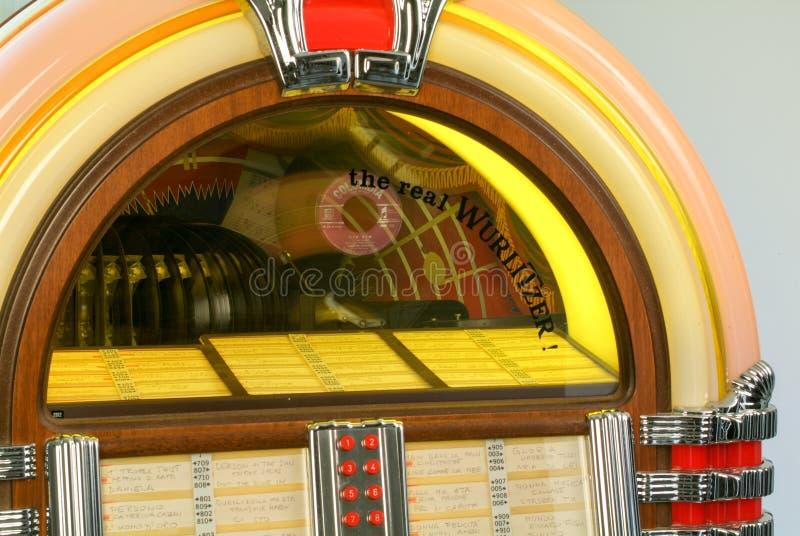 fünfziger Jahre Art Musikautomat lizenzfreies stockbild