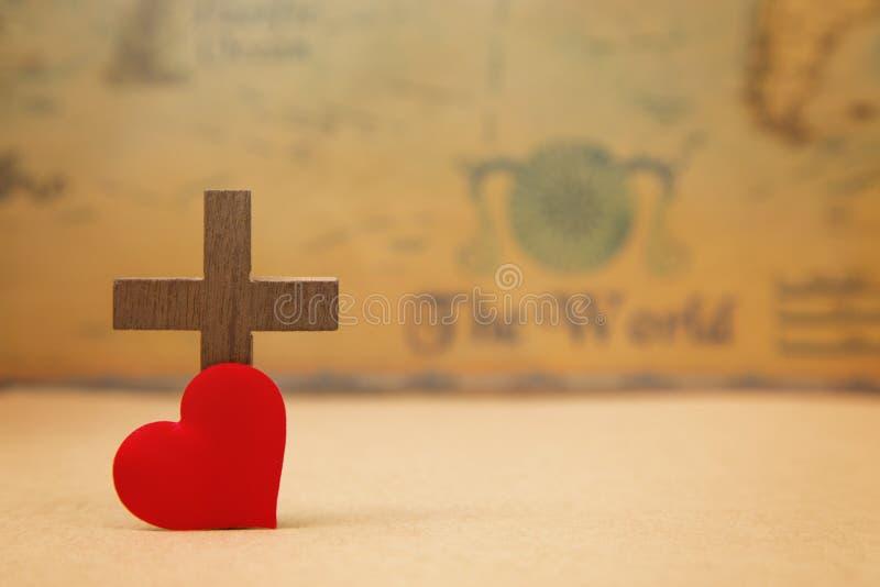 Für den Gott so geliebt der Welt lizenzfreies stockbild