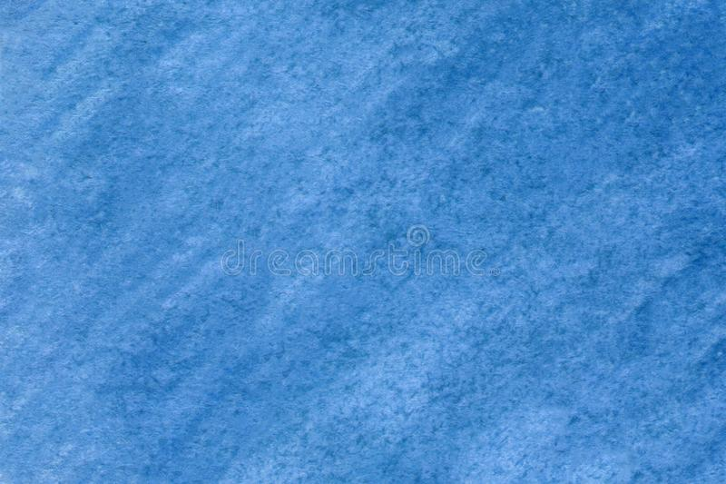 Für die Konstruktion, Oberflächen Moderne blaue Wasserfarbe Konstruktionselement Abstrakter Tintenfleck mit texturiertem Hintergr stockbild