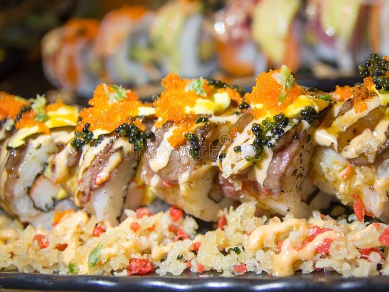 Für die Liebe der japanischen Nahrung stockbild