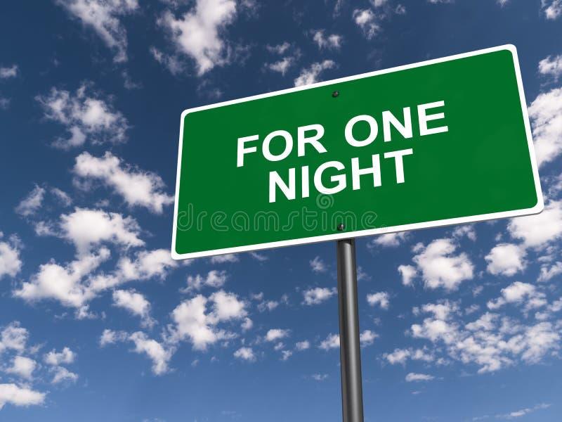 Für ein Nachtzeichen vektor abbildung