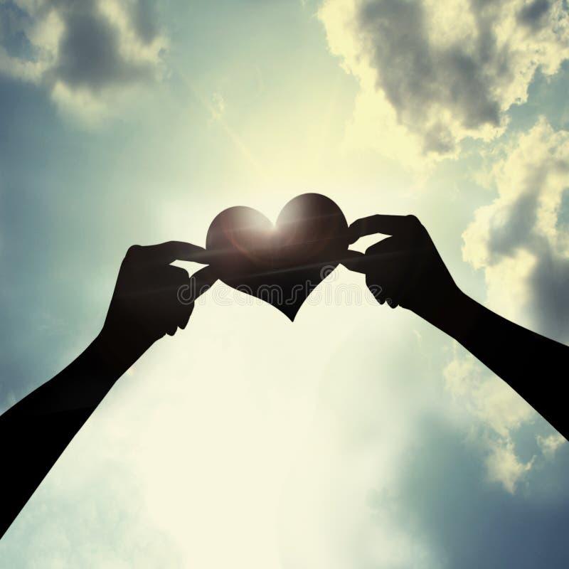 Für immer Liebe stockbild