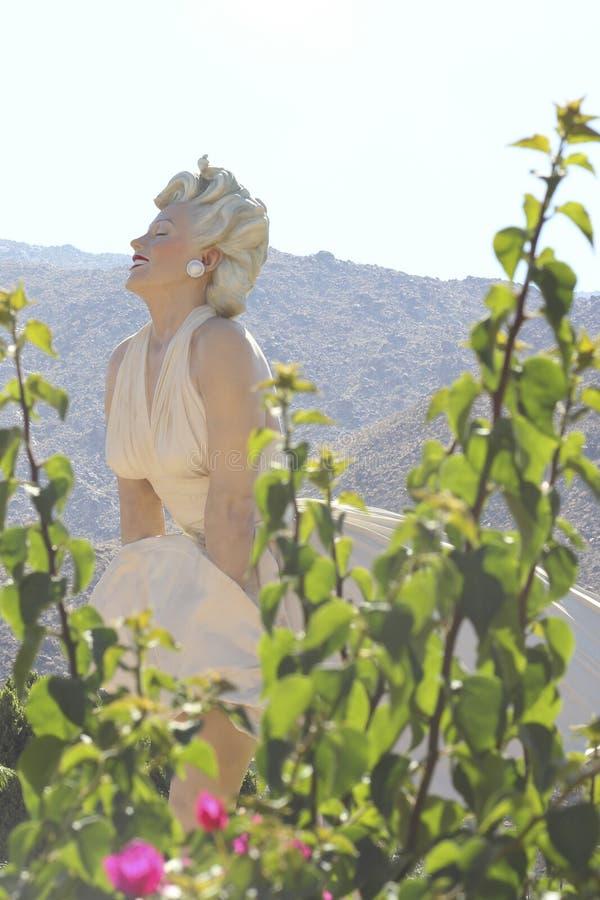Für immer Marilyn lizenzfreies stockbild