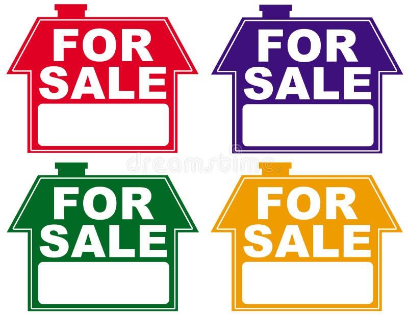Für Verkauf stock abbildung