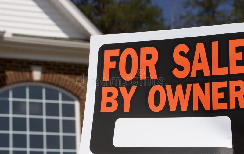 Für Verkauf durch Owner stockfotografie