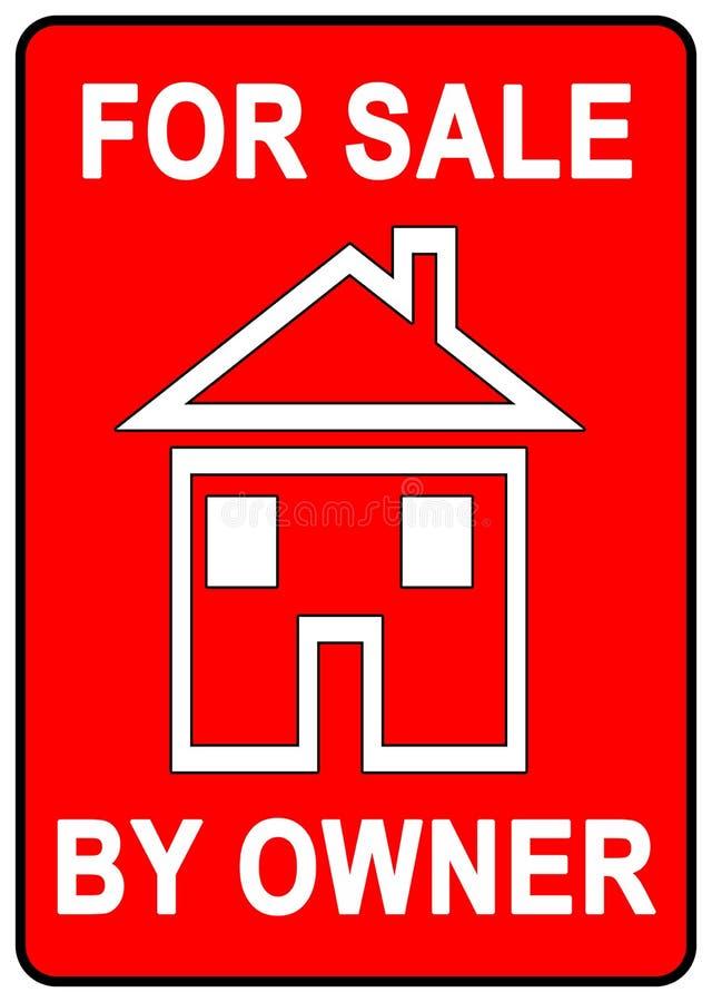 Für Verkaufs-Zeichen lizenzfreie abbildung
