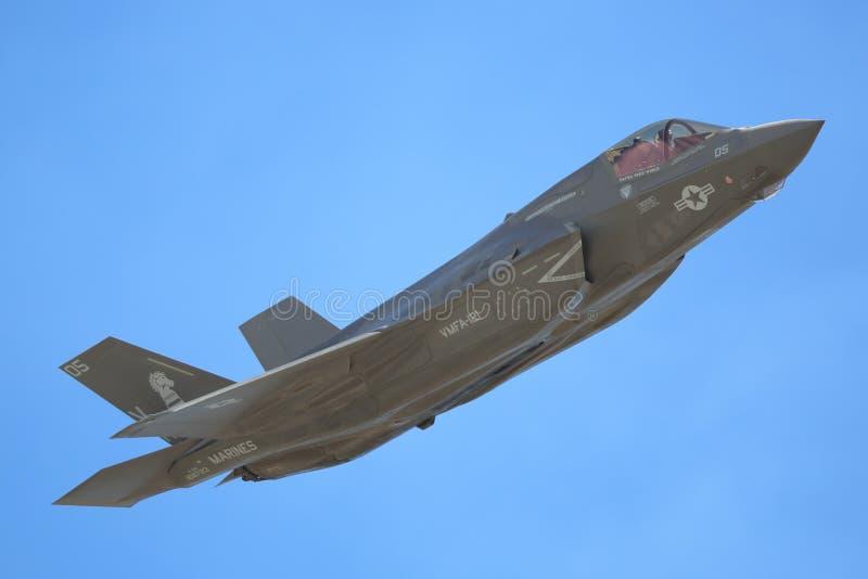 F35 αστραπή στοκ φωτογραφία