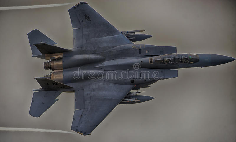 F15-γ, από 493d τη μοίρα μαχητών στοκ φωτογραφία με δικαίωμα ελεύθερης χρήσης