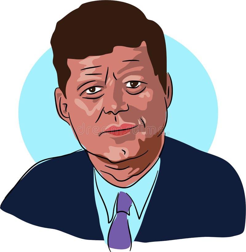 f Жоюн Кеннеды иллюстрация вектора