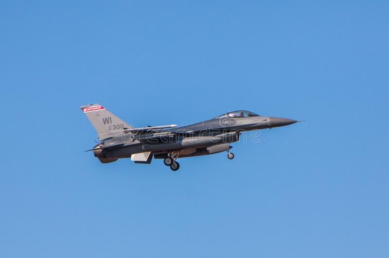 F-16战斗机猎鹰 图库摄影