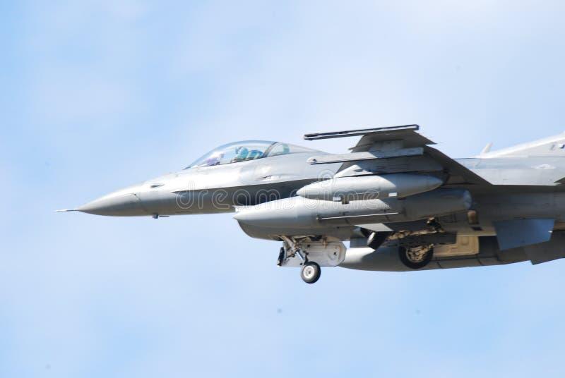 F-16猎鹰战斗 免版税库存照片