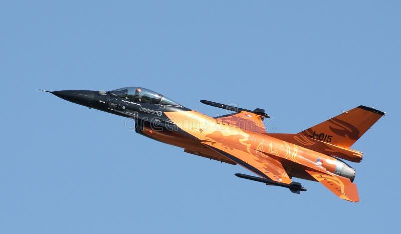 F-16猎鹰 库存图片