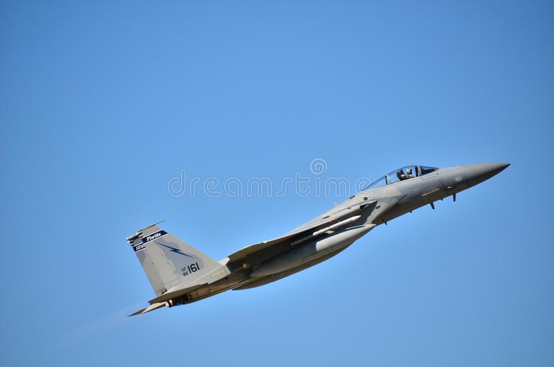 F15老鹰 图库摄影