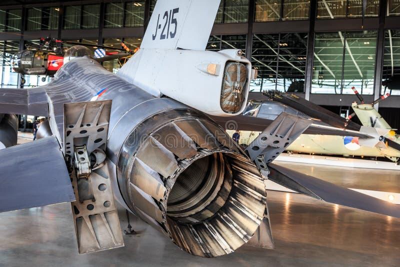 F-16细节 免版税库存照片