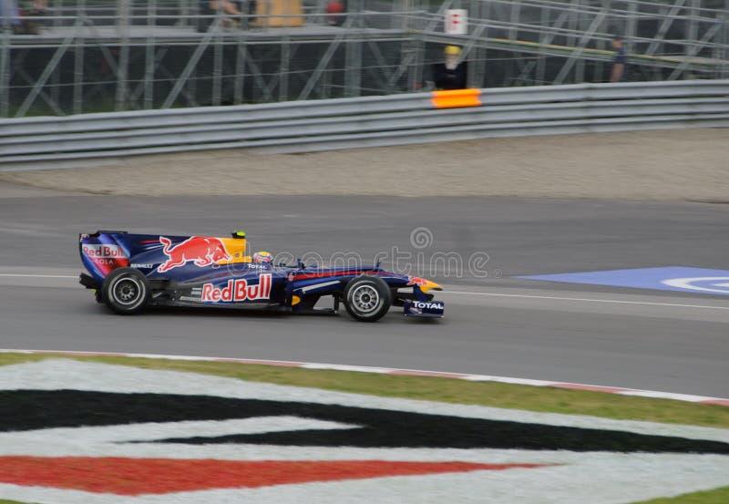 F-1 racing car stock images