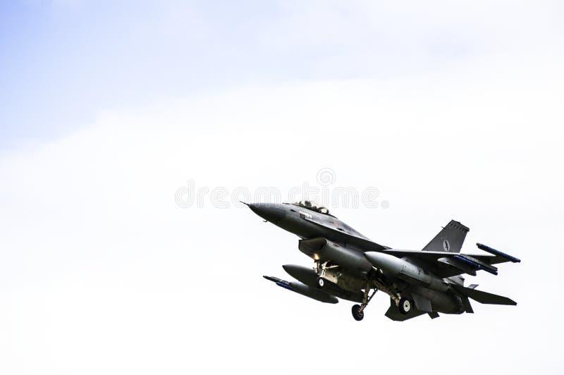 F - 16 стоковое изображение