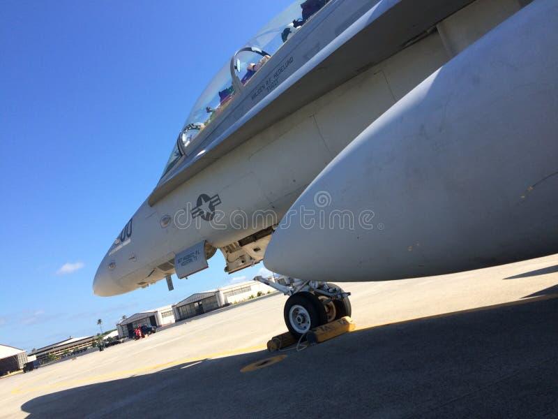 F/A-18 royalty-vrije stock foto