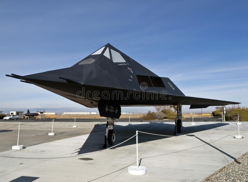 Download F-117 Museum Plane Editorial Stock Photo - Image: 16157023