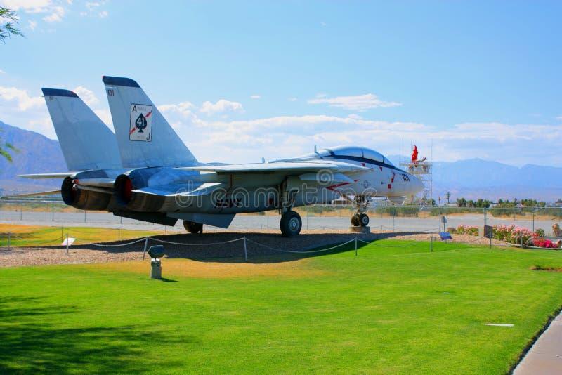 F 14 Vechter bij het Museum van de Lucht stock fotografie