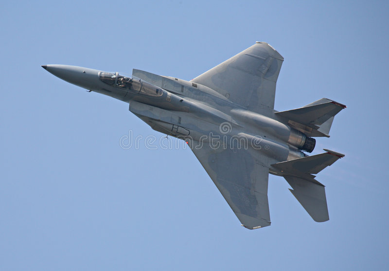 F-15 royalty free stock photo