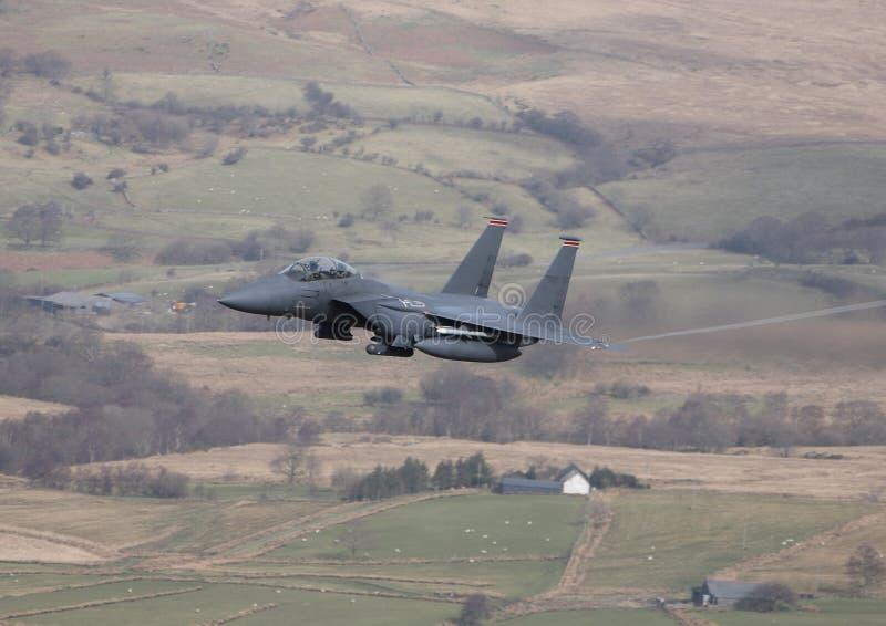F-15 de Adelaar van de staking royalty-vrije stock afbeeldingen