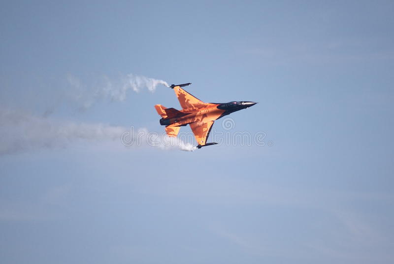F-16战斗机猎鹰 免版税库存照片
