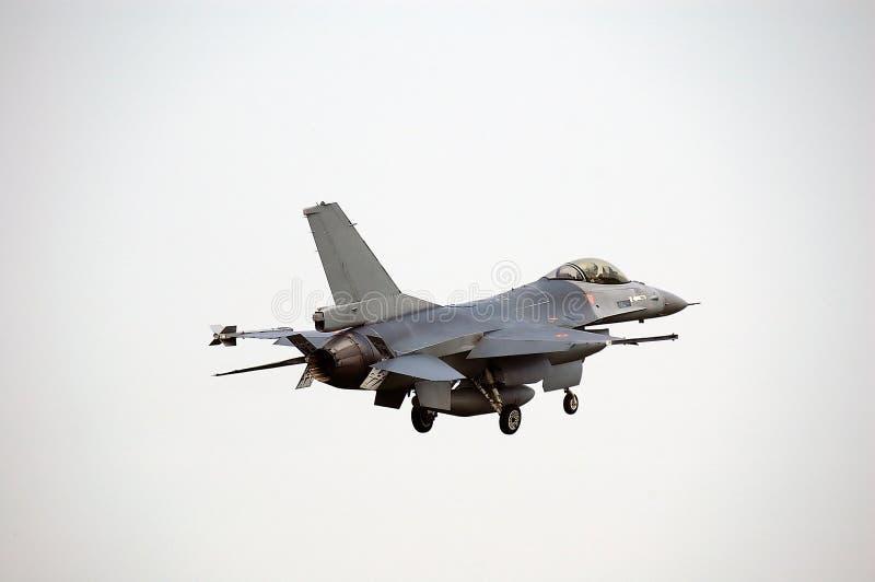 F-16战斗机航空器 库存照片