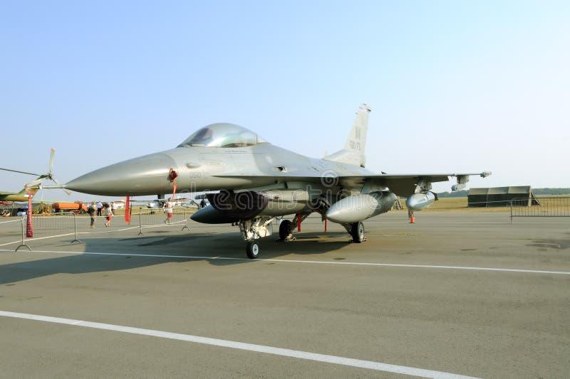 F-16 CM samolot fotografia royalty free