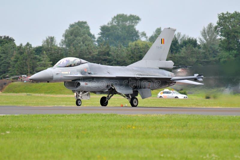 F-16 combattimento Facon fotografie stock libere da diritti