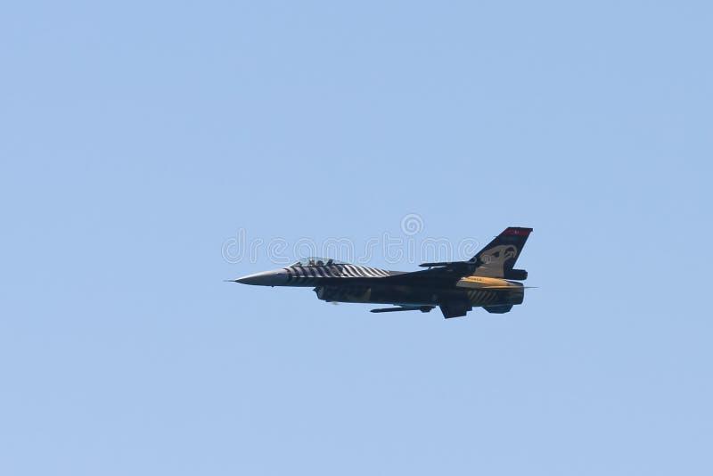 F-16 de SoloTurk image libre de droits