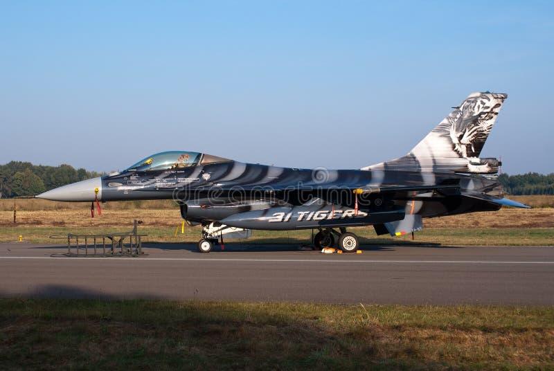 F-16 del belga fotografie stock libere da diritti