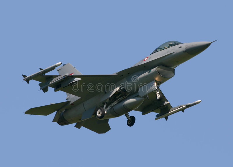 Download F-16 Fighting Falcon stock photo. Image of speed, pilot - 1403324