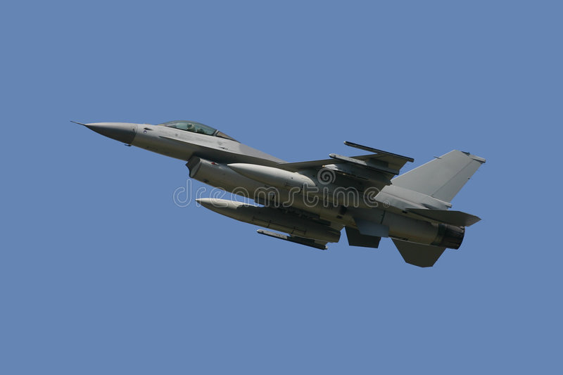 Download F-16 Fighting Falcon stock photo. Image of combat, invisible - 3034240