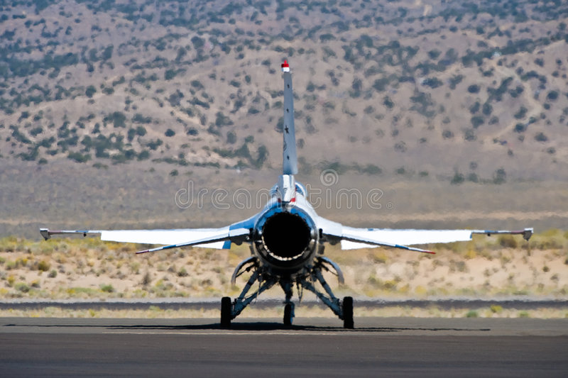 F-18 Thunderbird Stock Images