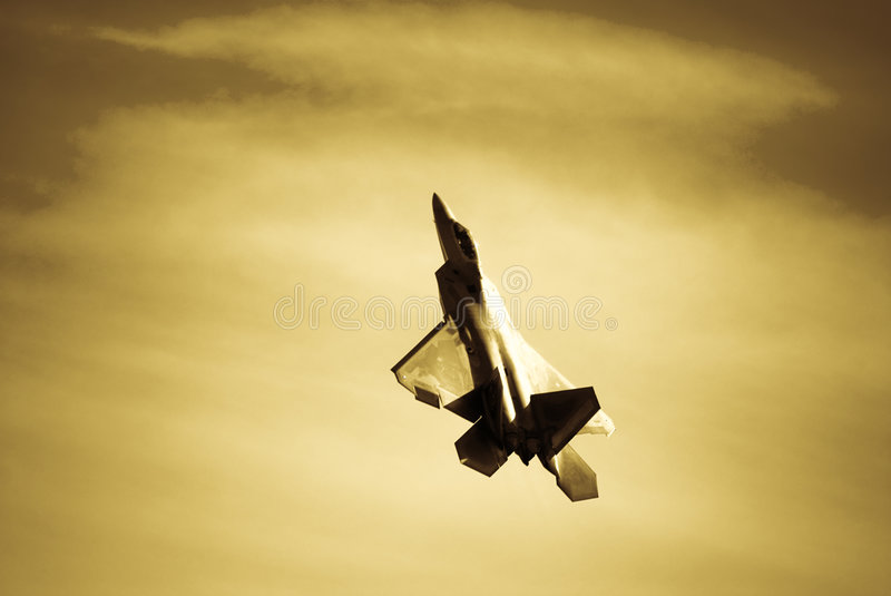 F-22 Raptor stock photo