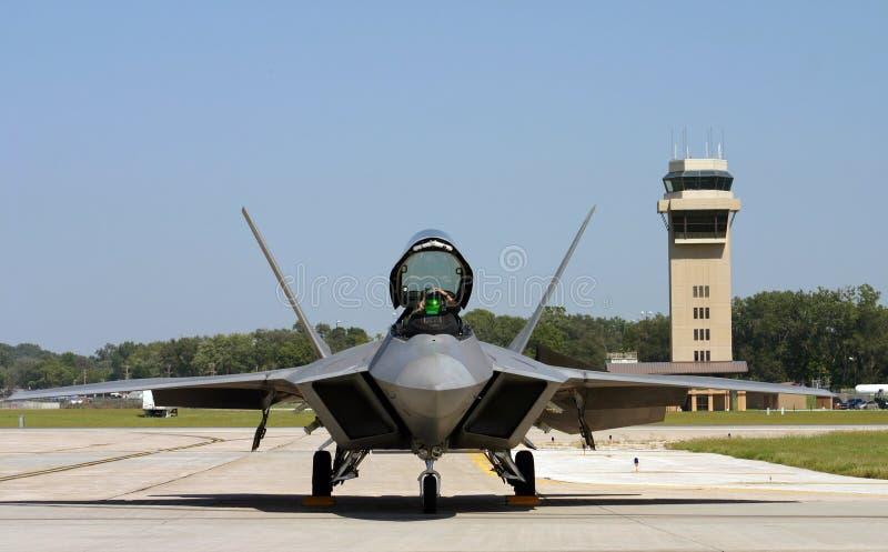 F-22 roofvogel royalty-vrije stock foto