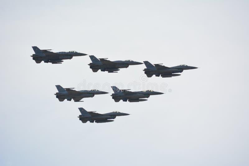 F-16 zdjęcie stock