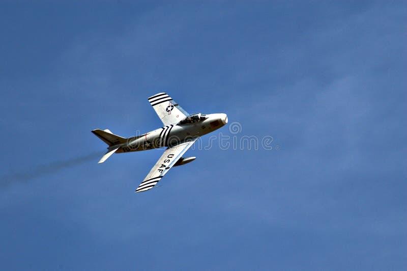 F-86 Sabre immagini stock