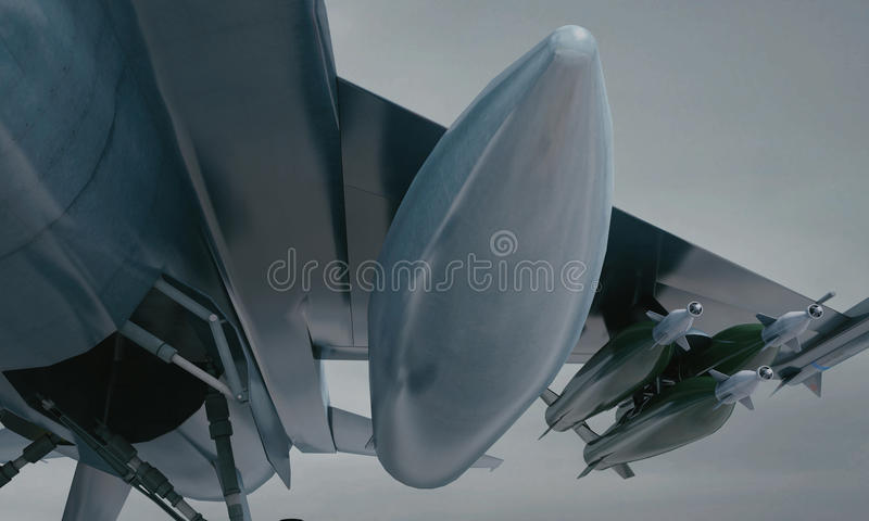 F 16 , american military fighter plane. Military base stock photo