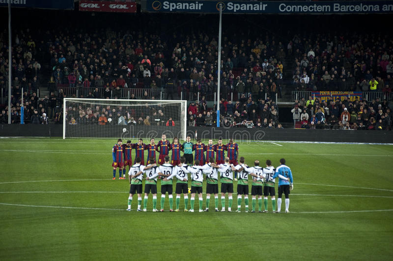F.C Barcelone images stock