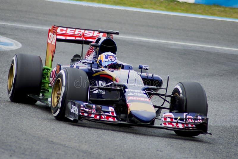F1: Carlos Sainz Jr, team Toro Rosso royalty free stock images